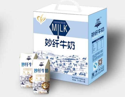 妙 纤 牛 奶